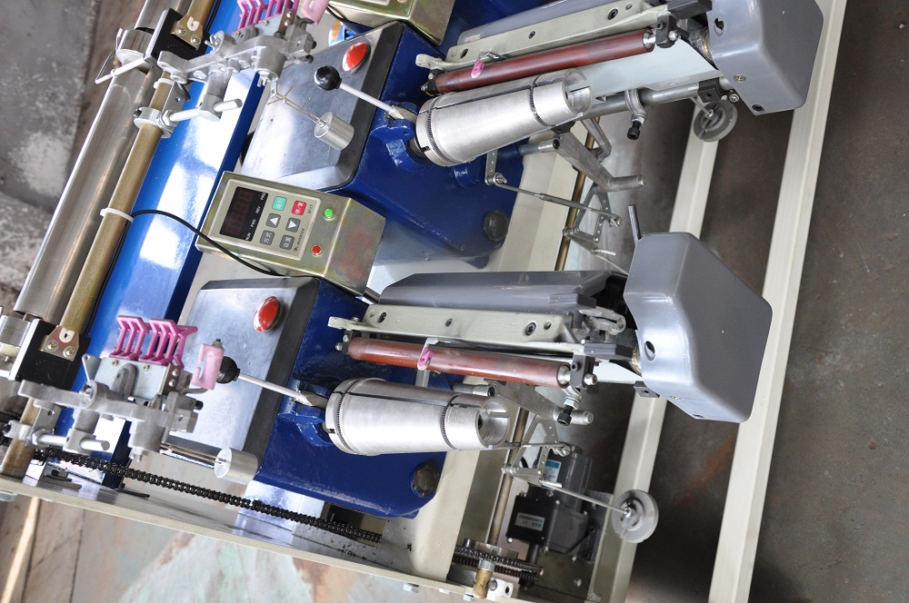 Cone to Cone Yarn Rewinding Machine