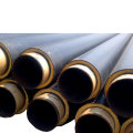 Polyurethane Lined Insulation Steel Pipe