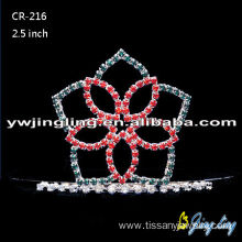Customized for Christmas Party Hats Wholesale Princess Flower Tiaras export to Central African Republic Factory