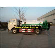 3000L Small Water Spraying Tanker Trucks