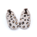 Fashion Baby Lepord Spot Infant Leather Shoes