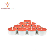 Common catholic party decoration white tealight candle