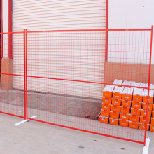 Canada Construction Fencing Powder Coated Temporary Fencing