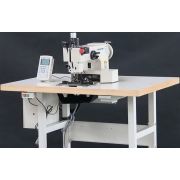 Extra Heavy Duty Programmable Pattern Sewing Machine with Large Shuttle Hook