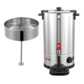 Electric stainless steel coffee dispenser tea urn