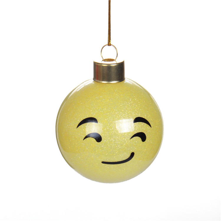 Emoji Cute Glass Ball