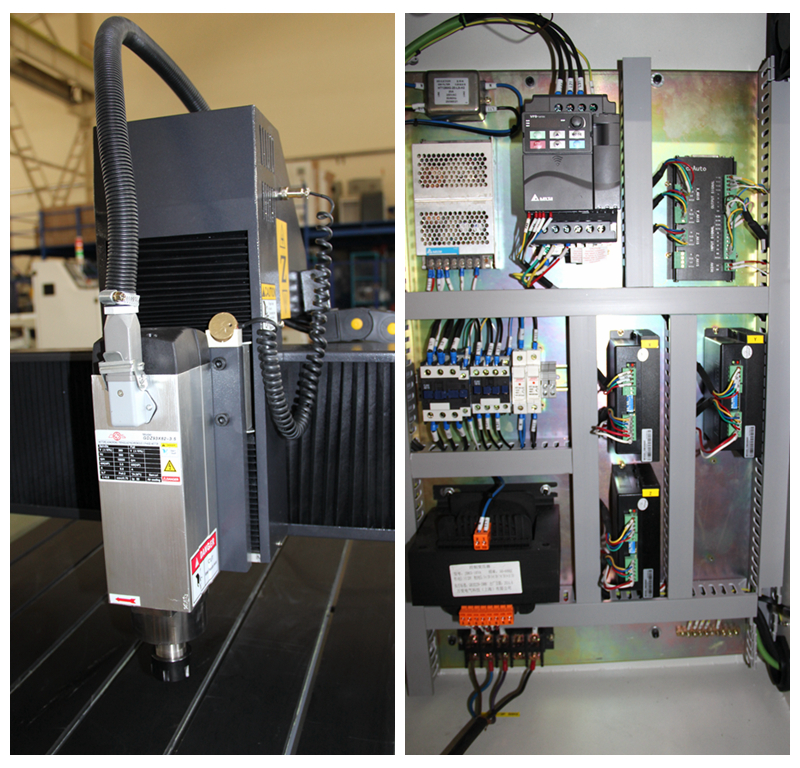 Cnc1224 Spindle And Motherboard