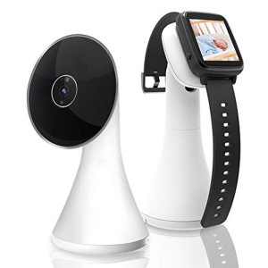 Video Wearable Baby Monitor With Vox Shock Sensor