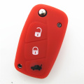 Silicon 3 buttons key pad replacement for Fiat