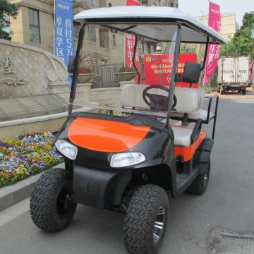 4 passenger off-road golf cart powered by gas