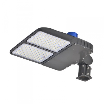 320W Led Shoebox Area Light Dusk To Dawn