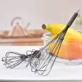 kitchen stainless steel mini egg coffee whisk