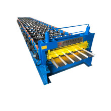 hot sales trapezoidal roofing steel roll forming machine