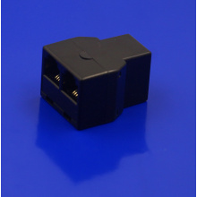 RJ11 6P4C connector Black