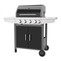 Four Burner Outdoor Gas BBQ With Side Burner
