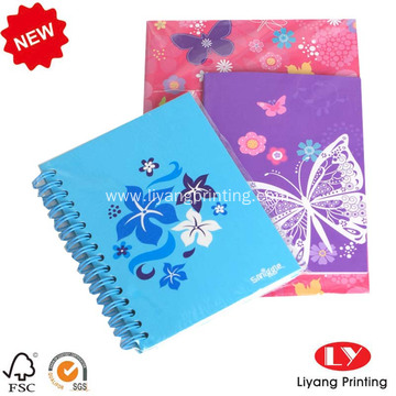2017 custom printed recycled paper notebook