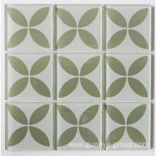 Pure Color Fashion Design Crystal Glass Mosaic