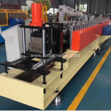 Perforated shutter door roll forming machine