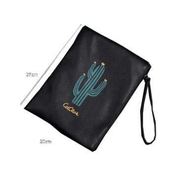 Cactus Pattern Printed Mini Easy Taking Hanging Makeup Pouch Cosmetic Bag