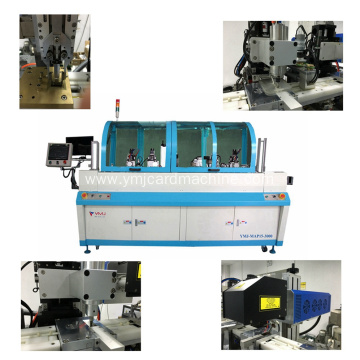 Slot Milling and Antenna Pulling Out Machine