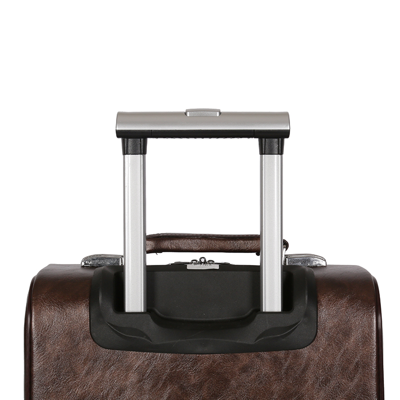 pu leather luggage lattop compartment inside