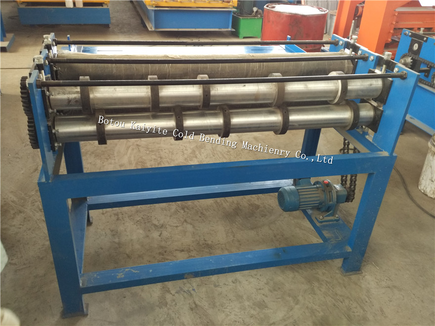 galvanized sheet slitting machine