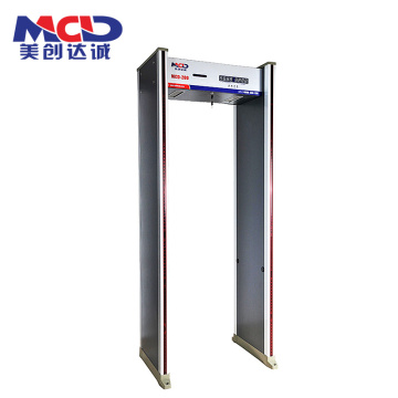 Hot Jual China Infrared Walk Through Metal Detector 18 Zona MCD-600