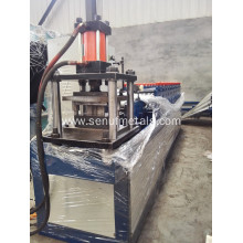 Cold metal roller shutter door frame roll forming machine