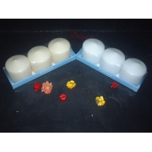Hot Selling White Unsccented  Pillar Candle