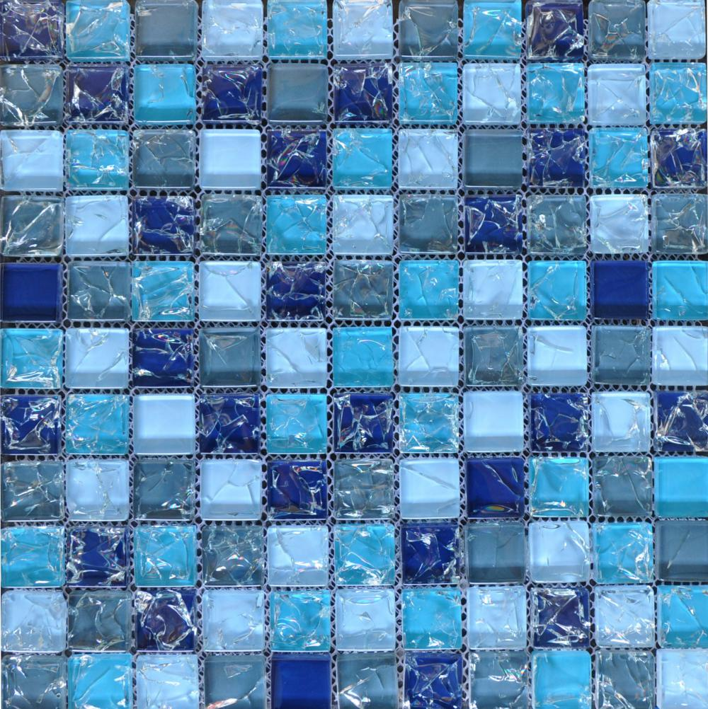 Mixed Color Grystal Glass Mosaic