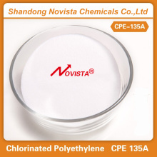 Cheap price for CPE Elastomers cpe135a resin powder polyethylene raw material export to Brazil Importers