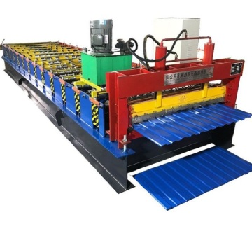 Roofing Trapezoidal Color Steel Iron Sheet Making Machine