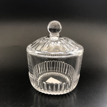 Hot Sell Glass Candy Jar Clear Color