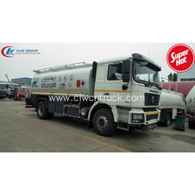 Export to South America SHACMAN fuel transport trucks
