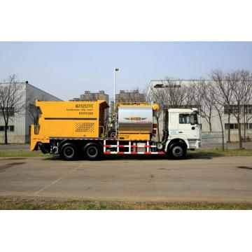 stone synchronous chip seal truck
