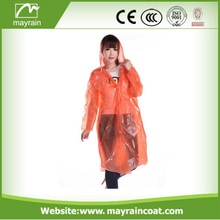 Raincoat PE Disposable Waterproof Raincoat