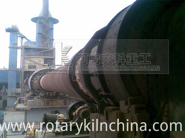 Catalyst rotary kiln 2