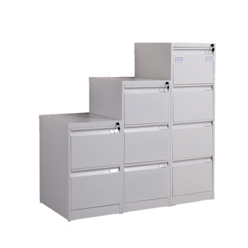 4 Drawers Glossy grey Steel Filing Cabinet
