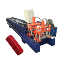 Metal Roof Tile Ridge Cap Roll Foming Machine
