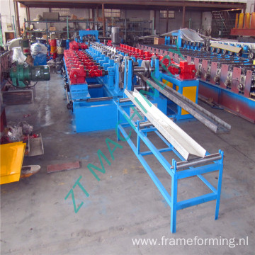 Steel c section purlin cold forming machine