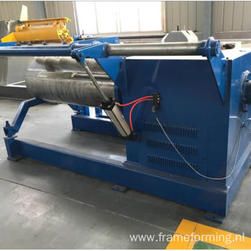 3 6 10 15 tons heavy hydraulic material decoiler