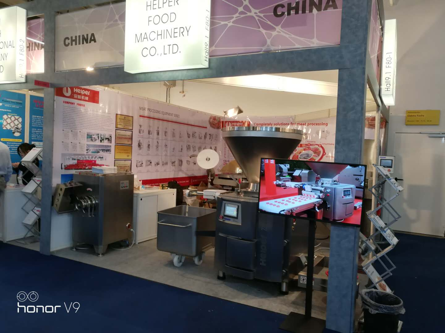 Helper Food Machinery IFFA 2019