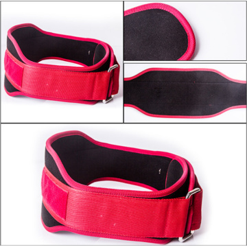 Tailored weightlifting belt fitness weightlifting retraining