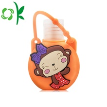 Silicone Hand Sanitizer Perfume Holder with Cute Design