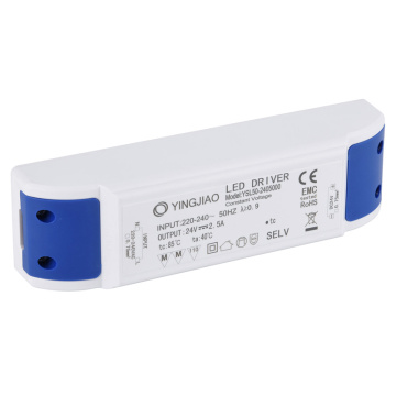 Class 2 Constant Voltage 24V 50w LED Driver