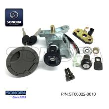 Professional for Baotian Scooter Lock Set YAMAHA AEROX Lock Set (P/N:ST06022-0010) Top Quality export to France Supplier