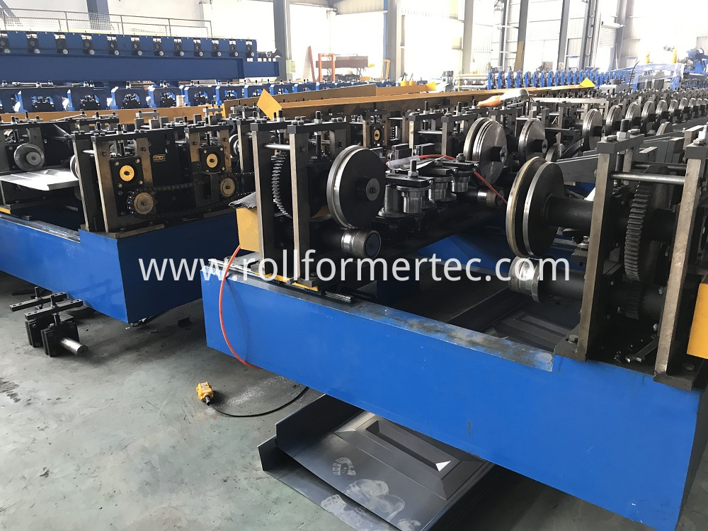 Hollow metal door rollforming line (1)