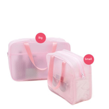 Fashion PVC Clear Travel Small Toiletry Bag Storage
