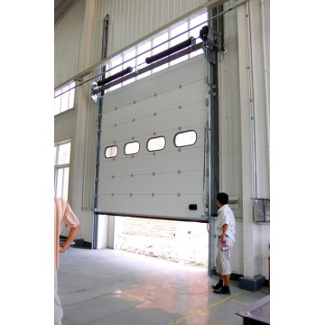 Industrial Overhead Sectional Upgrading Security Door