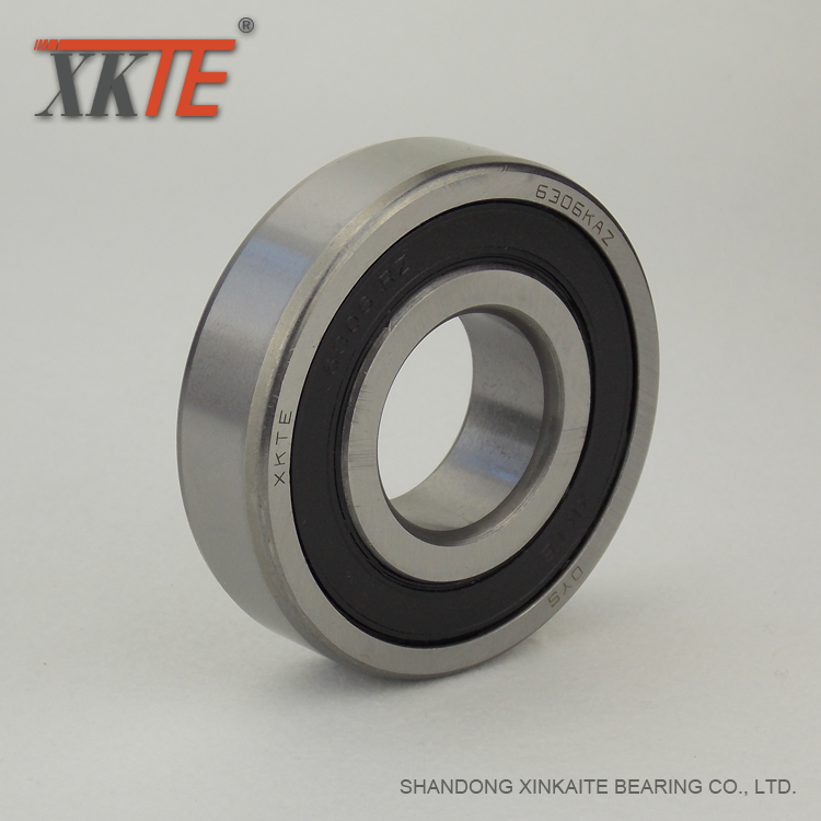6306kaz Sealed Polyamide Cage Bearing